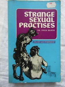 S/B BOOK STRANGE SEXUAL PRACTISES by IWAN BLOCH