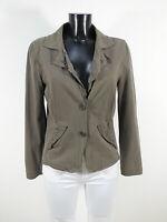 MARC CAIN Damen Jacke Blazer Gr 40 N4 / Grau und Modern  ( R 4811 )