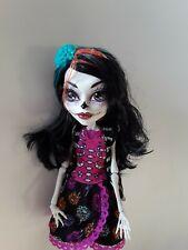 Skelita Calaveras Art Class Monster High Doll Excellent used condition