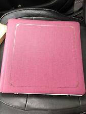 CREATIVE MEMORIES 12X12 PURPLE ALBUM COVERSET, PAGES and page covers