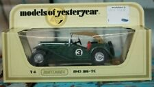 Matchbox Models of Yesteryear Y-8 1945 MG-TC 1978