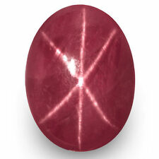 Cabochon Translucent Loose Rubies