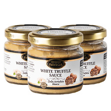 White Truffle Gourmet Sauce Pasta Tuber borchii Garlic High in Protein 3 x 80 g