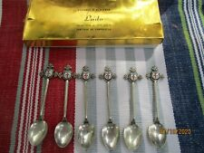 PLATA CUCHARAS ANTIGUAS LOTE - ARGENT MASSIF - STERLING SILVER LOT