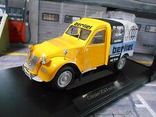 CITROEN Ente 2CV 2 CV Fourgonnette 1956 Assistance Berliet NEU NEW Norev 1:18