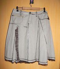 Jolie jupe jupon Salt & Pepper détails sympas (tulle, faux godets, poches...) 42