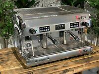 WEGA POLARIS 2 GROUP HIGH CUP CHROME ESPRESSO COFFEE MACHINE COMMERCIAL WHOLESAL