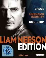 Liam Neeson Edition - Chloe - Non-Stop - Unknown Identity -  3 Blu Ray - Box