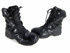 """SMITH & WESSON MEN'S GUARDIAN 8"""" MILITARY/POLICE BOOTS BLACK LEATHER US SZ 11 M"""