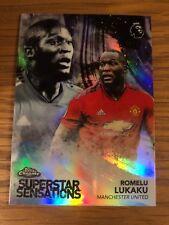 Topps Premier League Chrome 2018 2019 Superstar Sensations Lukaku