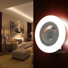 LED Night Light with Light/PIR Motion Sensor Wall Lamp for Corridor Corner O5K7