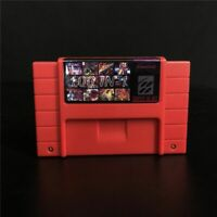 100 In 1 Super Game Cartridge 16-Bit Multicart NTSC SNES For Super Nintendo SAVE