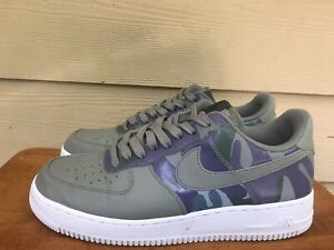 Nike Air Force 1 '07 Lv8 Men's Camp Olive Green Sneakers Shoes 823511-008 Sz 9.5