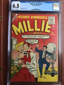 Millie the Model 63 CGC 4.5 OW/W 1953 DeCarlo 3rd Highest 6 on Census GGA