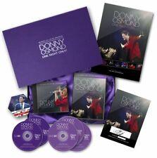 Donny Osmond Deluxe Box Set One Night Only Birmingham NEC 2017 **NEW**