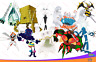 All 10 6IV SHINY ULTRA BEASTS Pokemon ULTRA SUN & MOON UB Beasts UBs BattleReady