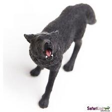 Noir Loup 10 cm série Animaux sauvages Safari Ltd 181129