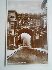 Vintage RP Postcard NORTH GATE, SALISBURY Franked & Stamped 1939
