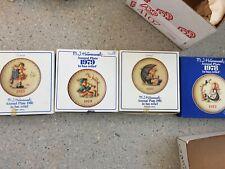 Vintage 1971-1981 Goebel Hummel annual plates set lot collection of (11)