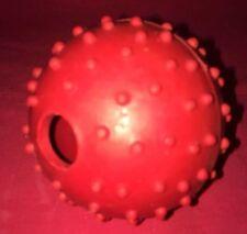 GOMMA Pimple BALL e campanello rosso resistente EXERCISER 2 pollici