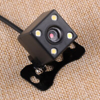 4 LED 12V Back Up Rear View Reverse Backup Camera Cam Waterproof A6