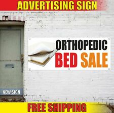 Orthopedic Bed Sale Advertising Banner Vinyl Mesh Decal Sign Furniture Shop Open