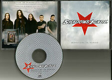 SHADOWS FALL Inspiration on Demand EDIT PROMO DJ CD single & SLIPKNOT TOUR DATES