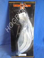 cc Harley softail chrome 70 tooth rear belt guard heritage standard springer