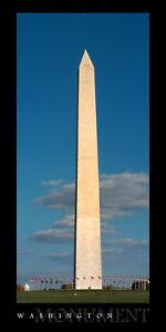 Poster Panorama Washington D.C. Monument Mall Panoramic Fine Art Print Photo