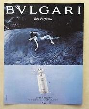B588-Advertising Pubblicità-2005 - BULGARI AU THE BLANC PARFUMEE