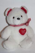 "Applause 10"" White ""Love Bearer"" Teddy Bear 1985"