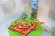 Kaper Kidz Children's Wooden PINK Pick Up Sticks Toy Game in Tin Case!