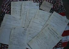 RARE COLLECTION LOT  OF ORDERS THE SINGER SEWING MACHINE $499 RETAIL VALUE. 1876