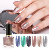 BORN PRETTY 6ml Glitter Nail Polish Rose Gold Color Holographicss Nail Varnish