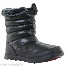 The North Face Micro Baffle Bootie Black & Red Women's Boots UK 8