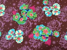 By 1/2 Yard Pretty Potent Primrose Amethyst Anna Maria Horner Free Spirit Fabric