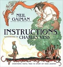 Instructions by Neil Gaiman (2010, Hardcover)
