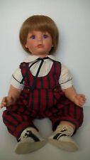 Susan Wakeen Collectible Doll Boy Purple Eyes Saddle Shoes~ Rare