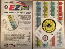 2014 Color Coded EZ Tabs NEC Code NFPA/Formular G.+ Ohms law sticker*