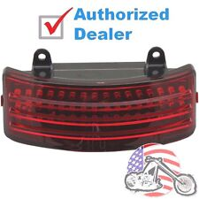 Custom Dynamics Rear Fender Red LED Tri Bar Light Harley Street Road Glide 14-17