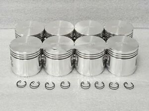 "Sealed Power Ford Mercury 312 Y-Block Pistons .040"" Thunderbird 1956-60"