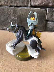 Nintendo - Wolf Link Amiibo The Legend of Zelda Twilight Princess HD Switch Wii