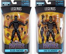Marvel Legends ~ BLACK PANTHER & ERIK KILLMONGER ACTION FIGURE SET ~ Hasbro