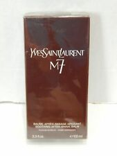 Yves Saint Laurent YSL M7 RARE 3.3 Ounce Soothing After Shave Balm New Sealed