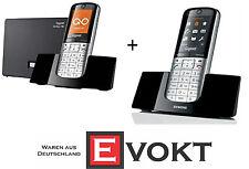 Siemens Gigaset SL400A GO + SL400H Landline Wireless Phone Pack Genuine New