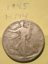 H144H1118 - Silver Walking Liberty Half Dollar 1945 - Free Shipping