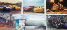 Cars 3 Blu-ray + DVD Combo With 4 Lithographs