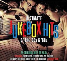 Ultimate Jukebox Hits of the 50s & 60s .. 75 Original Hits .. Rock 'n' Roll ..