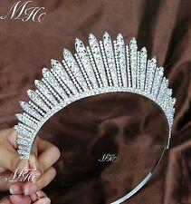 Princess Austrian Rhinestone Crystal Tiaras Crown Bridal Wedding Prom Headband