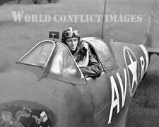 USAAF WW2 Spitfire Fighter#5 8x10 Nose Art Photo 4th FG 335th FS WWII